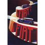 Cartaz Poster Vintage Carro Antigo Fiat Italia Automovel