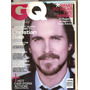 produto Revista Gq Inglês - Christian Bale/ Forget George Bush