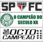 Adesivos De Parede- Seu Time - Spfc - Palmeiras - Santos -