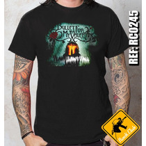 Camiseta De Banda - Bullet For My Valentine - Rock Metal