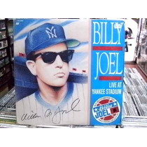 Billy Joel Live At Yankee Stadium 1990 Laserdisc Bom Estado
