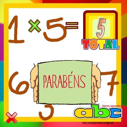 Cd Infantil Educativo Interativo - Tabuada + Divertida