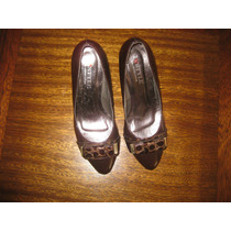 Sapato Italiano Salto Alto Verniz