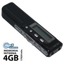 R70 Gravador De Voz Digital Grava Ligação Telefônica Mp3 4gb