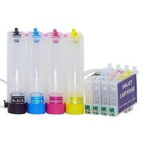 Bulk Ink Impressoras C67 / C87 / Cx3700 / 4700/5700 + Tinta