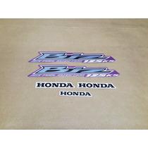 Kit Adesivos Honda Biz 125 Ks 2012 Rosa - Decalx