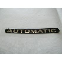 Emblema Resinado Automatic Astra/zafira- Mmf Auto Parts