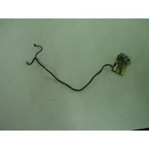 Placa Usb + Conector Rj Original Notebook Sti Is1555 Usado