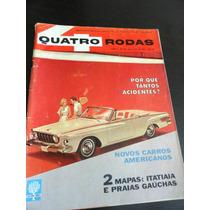 Revistas Quatro Rodas Antigas Novos Carros Americanos