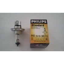 Lampada Philips Biodo H4 12v - 35/35w - Farol Moto - 12458