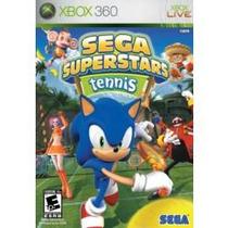 Jogo Sega Superstars Tennis + Xbox Live Arcade Para Xbox 360