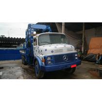 Caminhão Munck Munk Mb 2220 Traçado 6x4 Guindaste