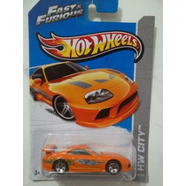 Toyota Supra - Velozes E Furiosos Hot Wheels 2013