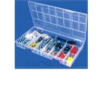 Organizador Plástico Com Divisórias 4,5 X 19,5 X 33,5cm