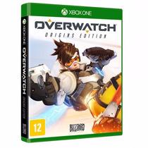 Overwatch Origins Edition Xone Lacrado Envio Rápido + Pôster