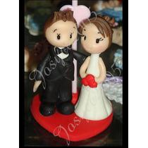 30 Lembrancinhas De Casamento Noivado Bodas Em Biscuit