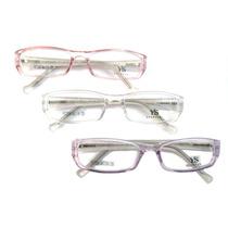 Armação Infantil Em Acetato - 3 Cores - Menina Óculos P Grau