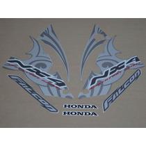 Kit Adesivos Honda Falcon Nx4 2006 Prata - Decalx
