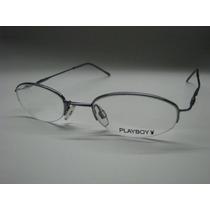 Armação De Óculos Playboy Azul 1627