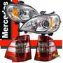 Kit Farol E Lanterna Mercedes Ml 98-2001