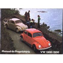 Manual Proprietário Fusca 1971-1972-1973 Em Pdf