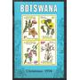 produto Ms5131 - Botswana - Bloco Com Desenhos Flores/natal