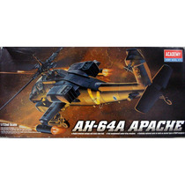 Helicoptero Ah64 A Apache Academy 1/72 = Kit Revell E Tamiya