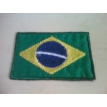 Adesivo Tecido Bandeira Brasil * 3 Unidades * Frete R$ 6,00