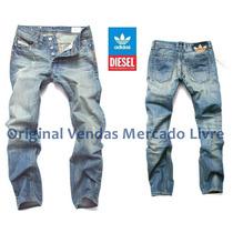 Calça Jeans Demin Masculina Adidas 2016 - Alta Qualidade