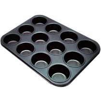 Forma De Cupcake 12 Cavidades Teflon Antiaderente