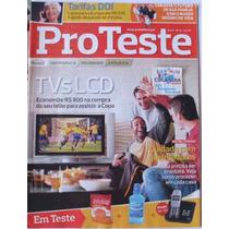 Revista Pro Teste 92 Junho/2010- Tvs Lcd - Cdlandia