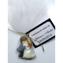 Promoção!! 125 Noivinhos - Lembrancinhas De Casamento C/ Imã