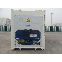 Container Reefer Refrigerado Frigorifico Câmara Fria