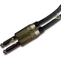 Cabo P10 Para Instrumentos Conectores Amphenol 20 Metros