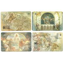 Loucura Série Pintores Brasileiros (4 Cartões) Telebras