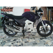 Spoiler P/ Yamaha Ybr Factor 125 - Carenagem Exclusiva