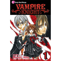 Camiseta Estampa Anime Vampire Knight
