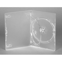 Box Dvd Triplo Transparente Estojo P/cd E Dvd 50 Unid.