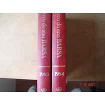Livro Do Ano Barsa 1983 E 1984