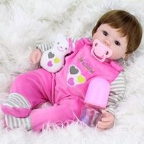Boneca Bebê Reborn Layrinha 40cm Pronta Entrega No Brasil