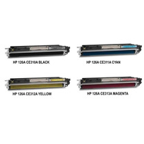 Toner Hp 126a Ce310a / Ce311a / Ce312a / Ce313a Compatíve