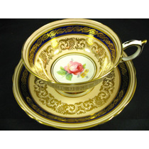 Linda E Antiga Xícara Chá Inglesa Floral Paragon !!