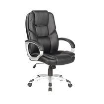 Cadeira Escritório Poltrona Presidente Reláx Couro Ecológico