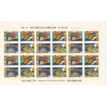 Brasil-folha Inteira,nova, Selo ,1621-4- 20 Anos Da Ect-1989