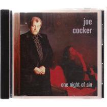 Joe Cocker - One Night Of Sin - Novo Importado Frete Grátis