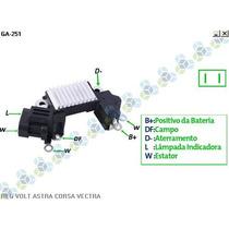 Regulador De Volatgem Astra 1.7 14v - Gauss