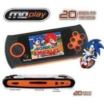 Mdplay Megadrive Portatil Tectoy Original 20 Jogos