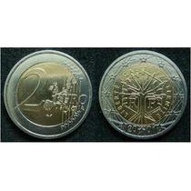Moedas - França - 2 Euro 2001 - Fc - Bimetálica