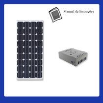 Kit De Energia Solar De 60w 24v Para Torre Repet De Internet