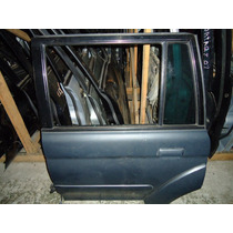 Porta Mitsubishi Pajero Sport Traseira Lado Motorista